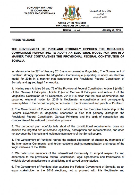 press-release-the-government-of-puntland-strongly-opposes-the-mogadishu-communiquc3a9-purporting-to-adopt-an-electoral-model-for-2016-1