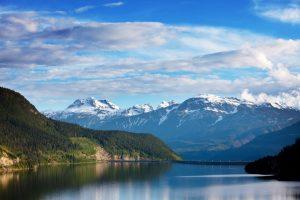 lake in canada photo