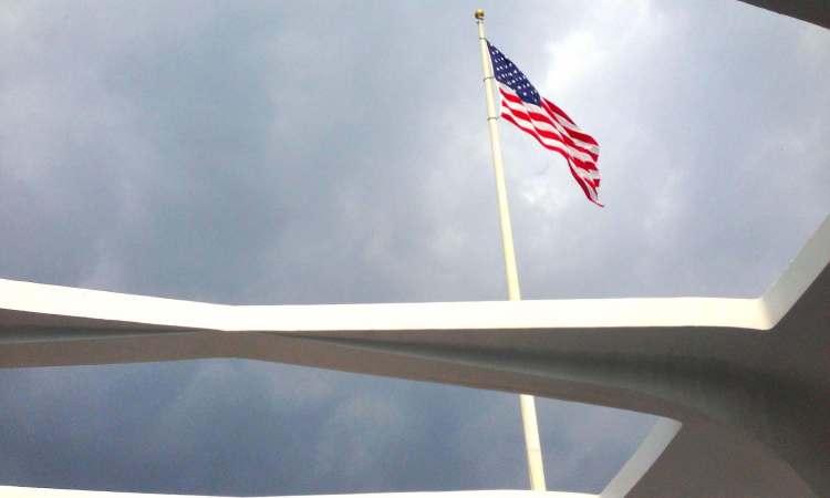 Arizona Memorial American Flag