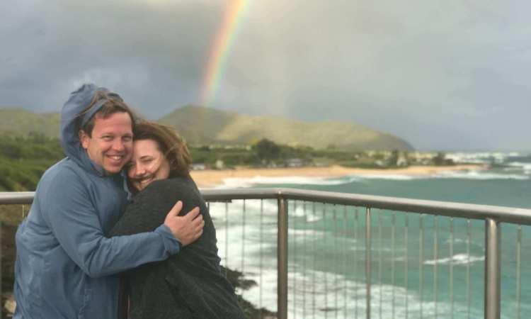 Halona Blow Hole Rainbow