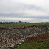 Holding ponds under construction. Photo Robert Devet