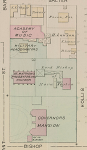 Area From Hopkins Atlas on 1878