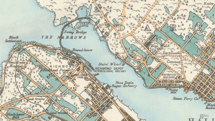 1889 Hopkins Map of Halifax.