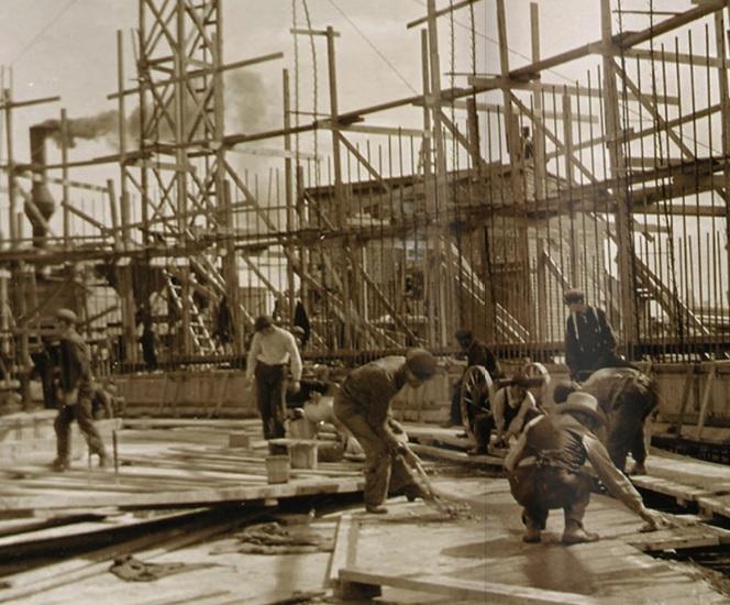 Original Construction, Circa 1913