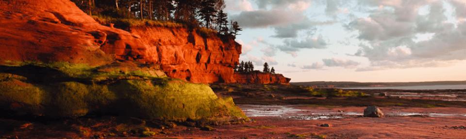 Grand Pre Fundy Tides Nova Scotia