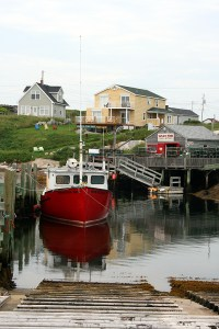 Boats at Peggy's Cove