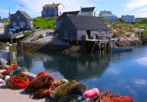 Old Village at Peggy's Cove NS