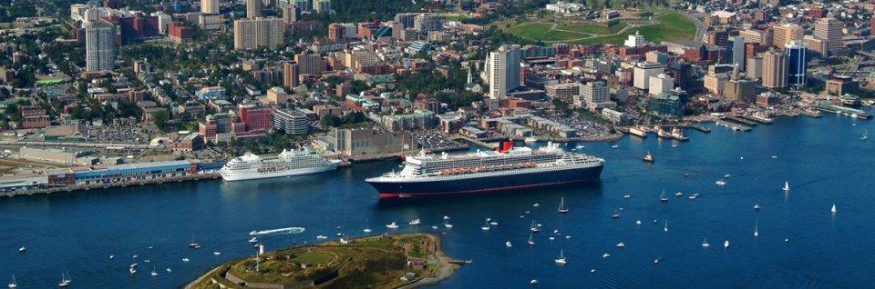 Halifax cruise ship port