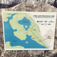 Long Lake Provincial Park dog-friendly