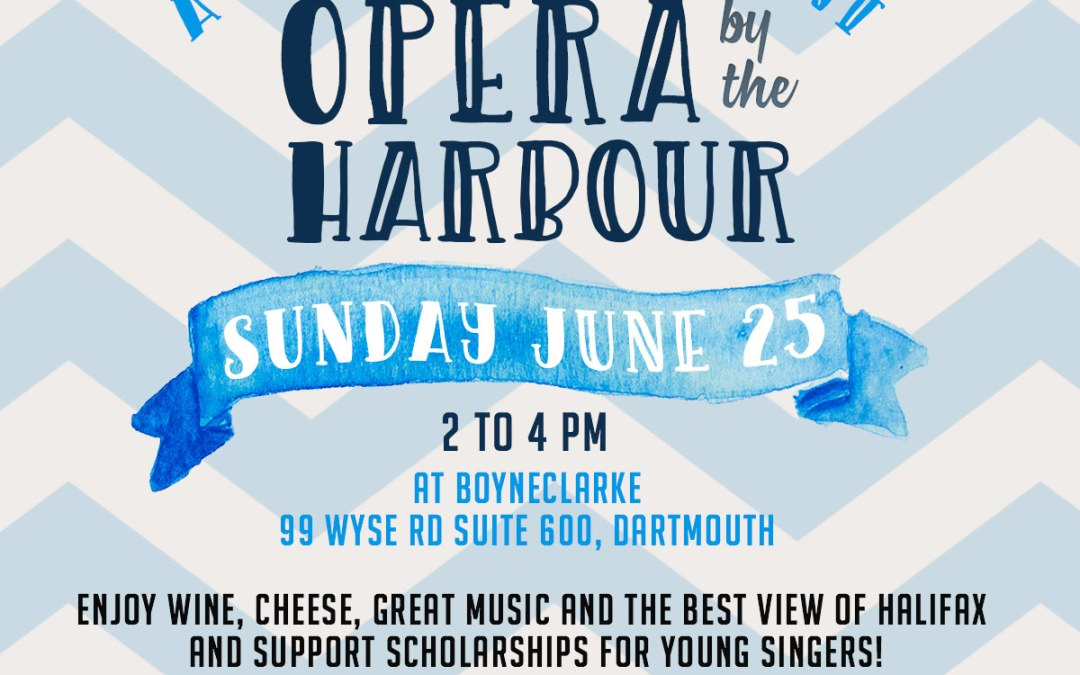 Support young singers coming to Halifax for opera education!