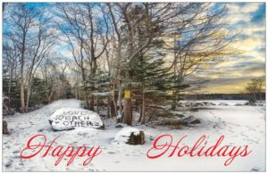 long lake provincial park holiday cards