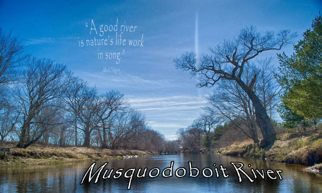The Musquodoboit River