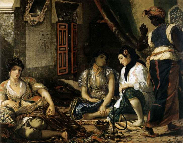 Delacroix, E. The Women of Algiers, Oil on canvas
