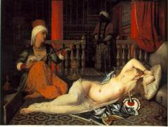 Ingres, J. Odalisque with a Slave