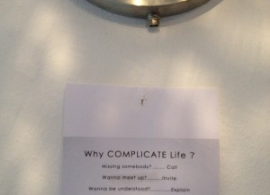Why complicate live