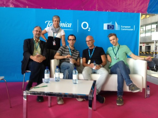 """""""The future of music is social"""" Talk at Campus Party Europe Berlin 2012"""