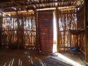 inside the nice hut