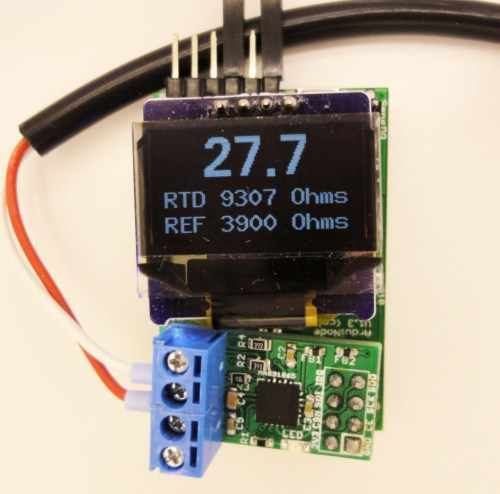 small resolution of oled with working breakout board