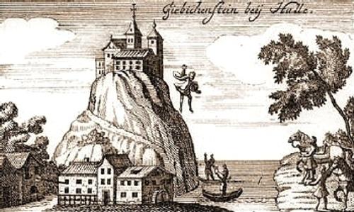 Ludwig der Springer, Darstellung aus dem 19. Jahrhundert