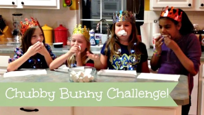 Hallecake Chubby bunny Challenge