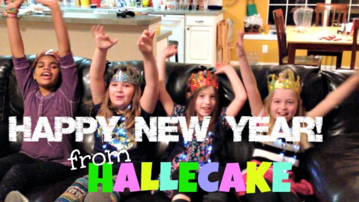 Happy New Year From Hallecake