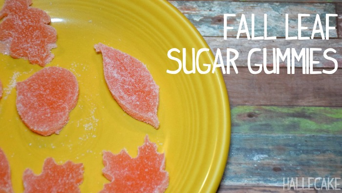How To Make Sugar Gummy Fall Leaves