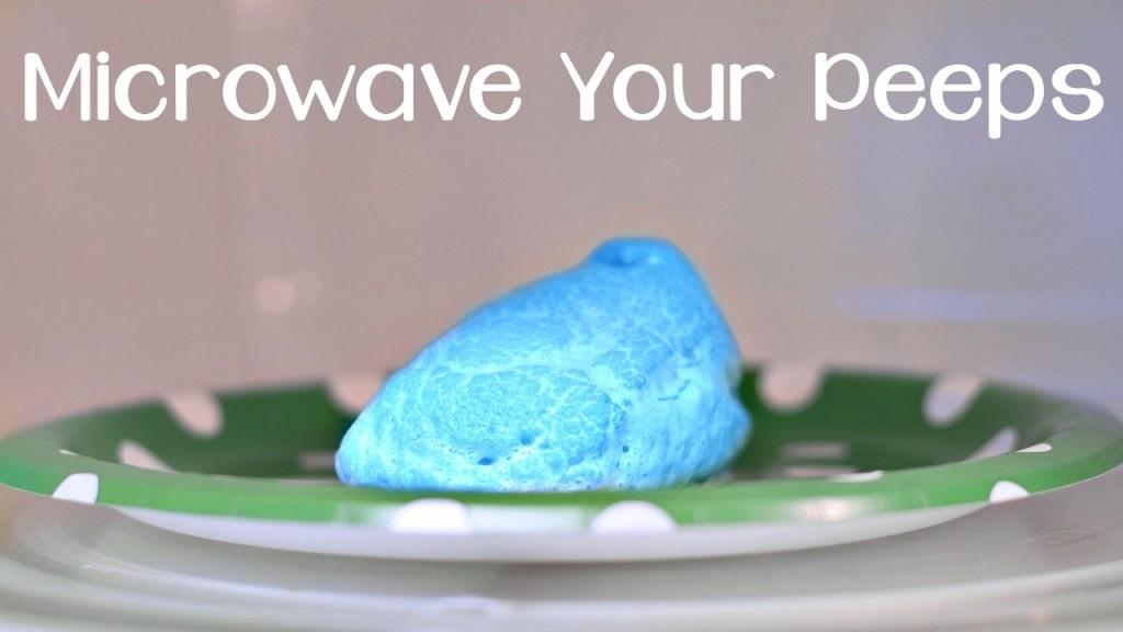 Microwave a Peep