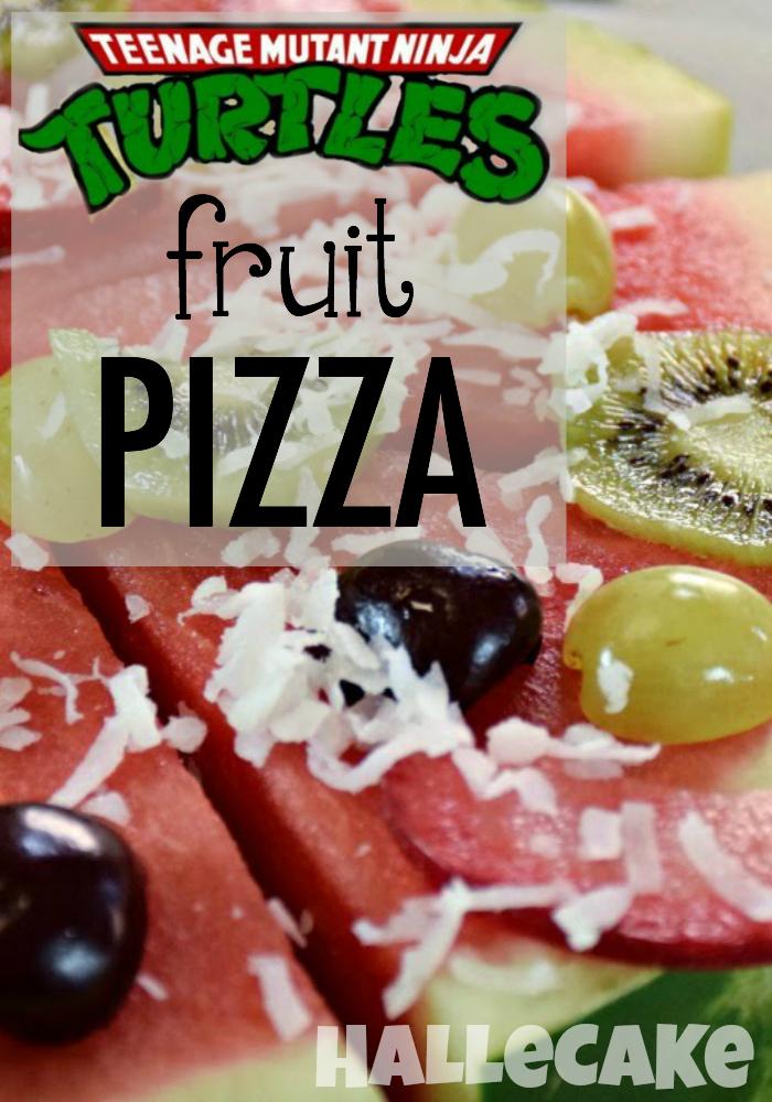 Teenage Mutant Ninja Turtles Fruit Pizza