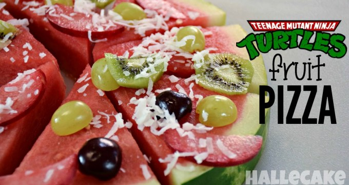 Teenage Mutant Ninja Turtle Fruit Pizza