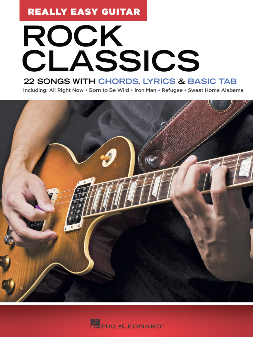 Luca stricagnoli showcases his immense guitar skills with this fingerstyle cover of the lynyrd skynyrd hit, 'sweet home alabama.'. Rock Classics Really Easy Guitar Series 22 Songs With Chords Lyrics Basic Tab Hal Leonard Online