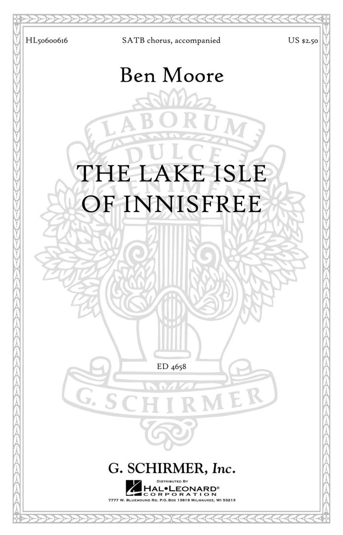 The Lake Isle of Innisfree