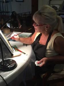 Michael Windbert's Tuesday night Oil Painting Class!