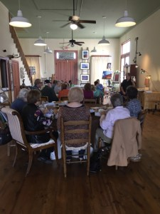 Hallet Oak Gallery Lunch & Learn featuring Michael Windberg oil painting demonstration!