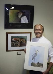 Steve Beckman, traditional watercolorist