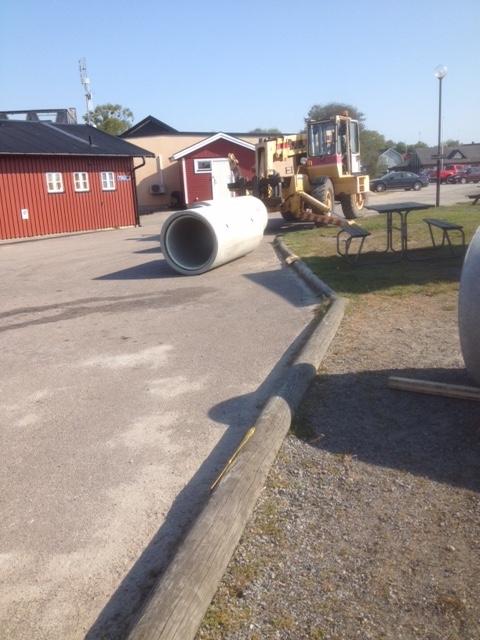 cementrör över pålar maj 17