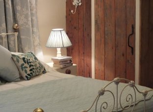 Double bedroom, in the Byre Cottage