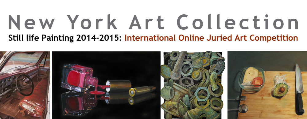 Still life painting 2014-2015: International Exhibition