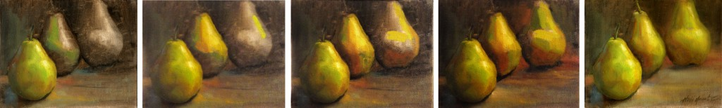 howtopaintpears