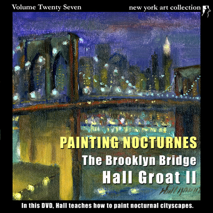 Oil Painting Video Instruction Brooklyn Bridge