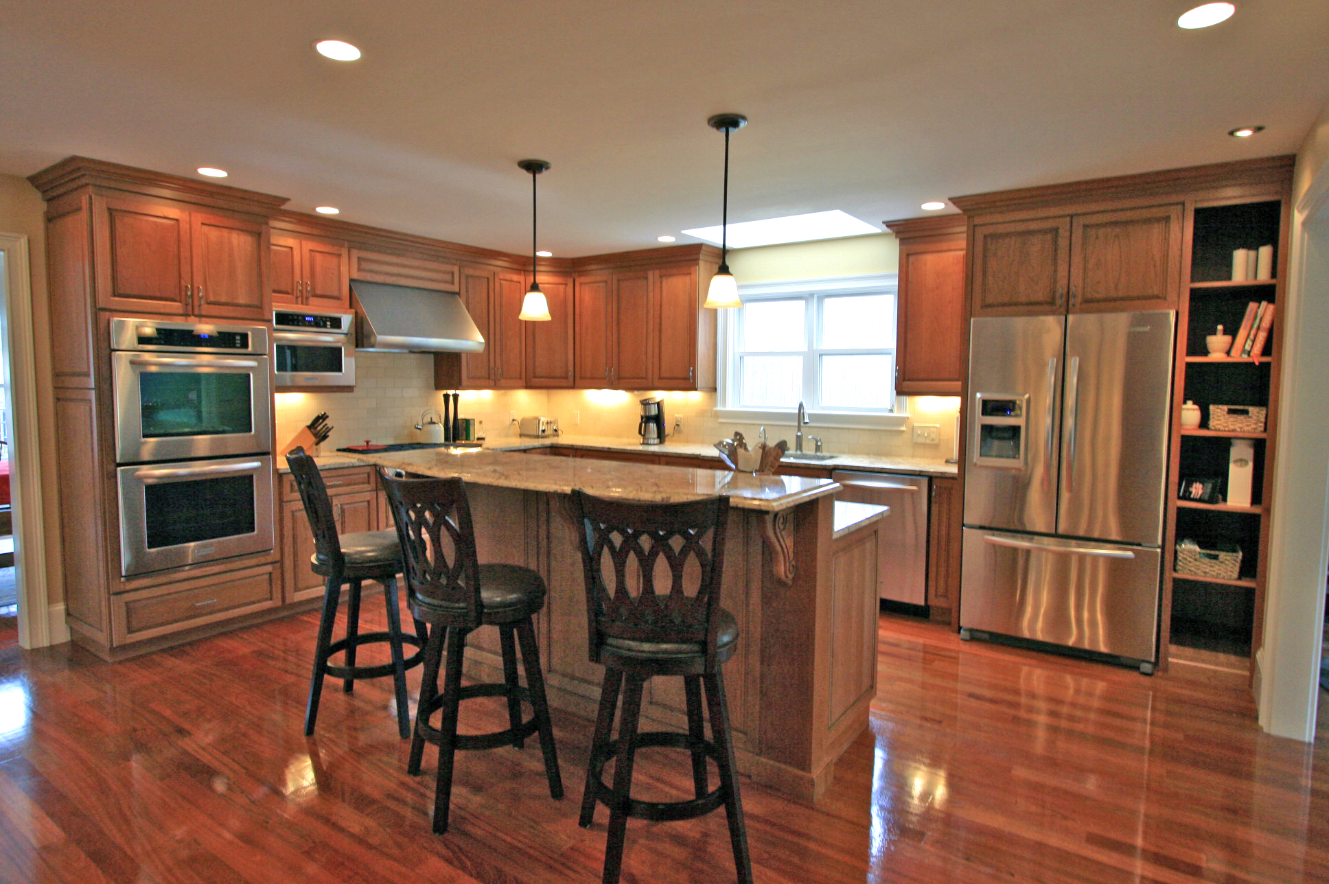 pictures for the kitchen bar lighting check out pics of new kitchens halliday construction
