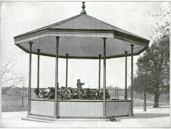 The Regent's Park Bandstand School featured in Popular Mechanics, August 1912