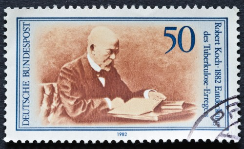 Robert  Koch Stamp