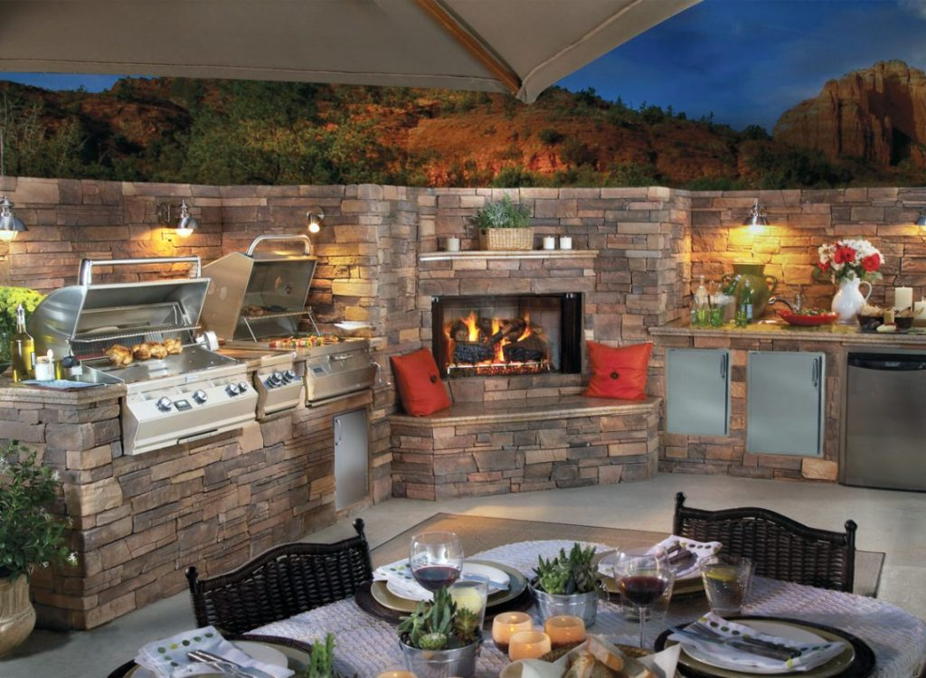 portable grills built-in grills outdoor kitchens