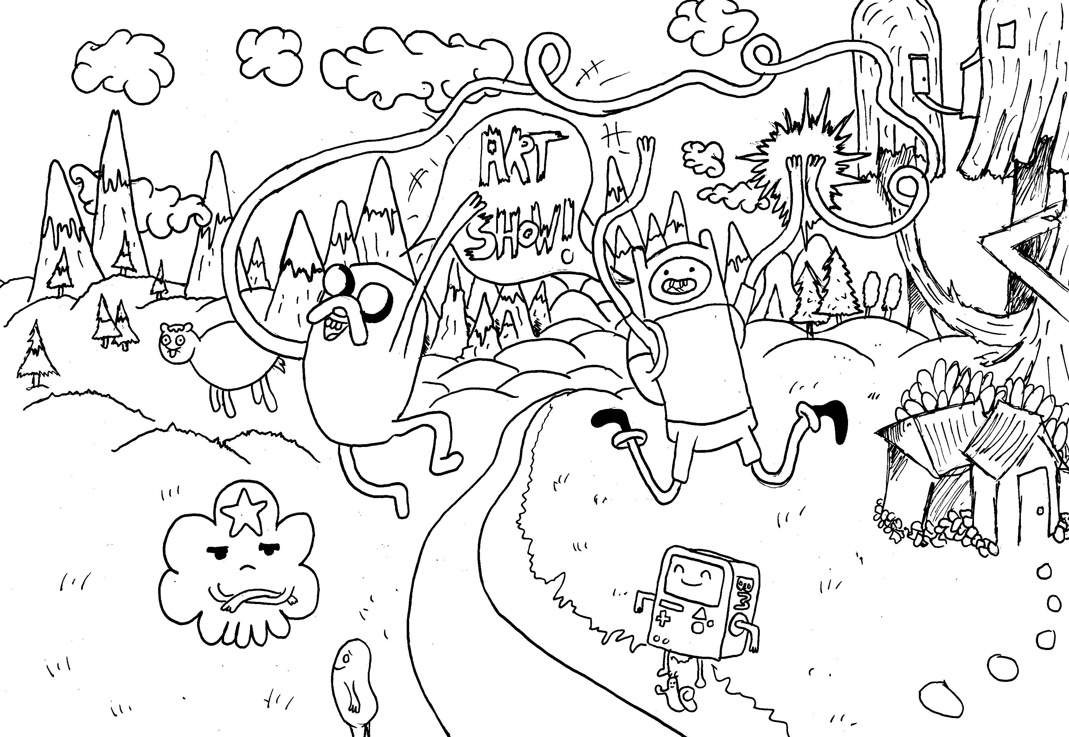 Adventure time front cover