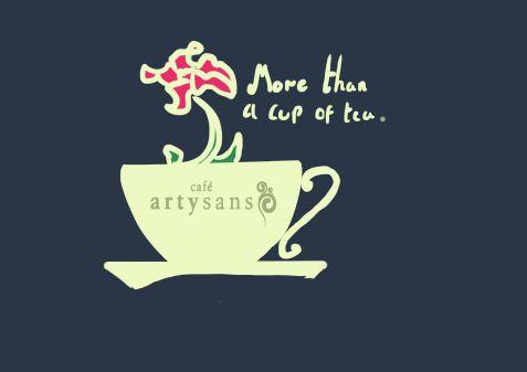 flower teacup