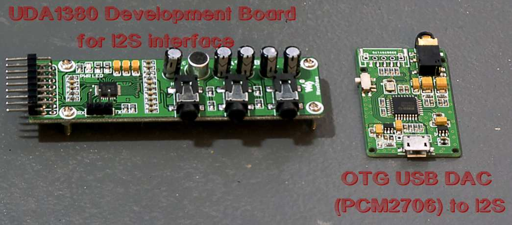 UDADev Board and OTG Mobile to I2S