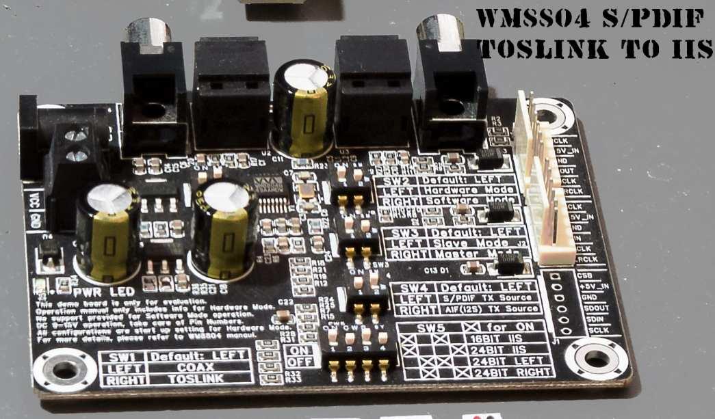 WM8804 SPIDF to I2S