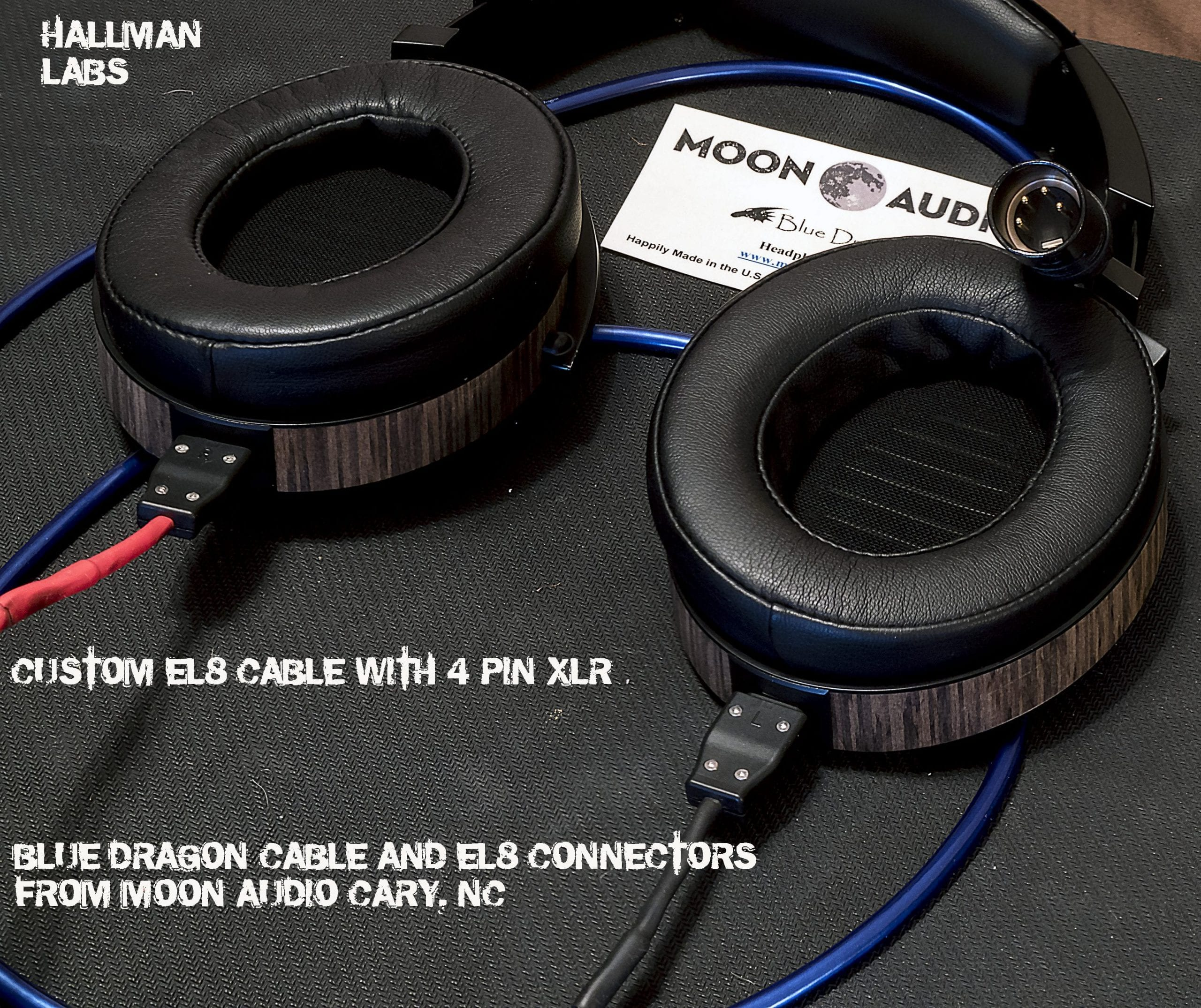 How To Custom El 8 Cable For 4 Pin Xlr Using Moon Audio S Blue Dragon Hallman Labs