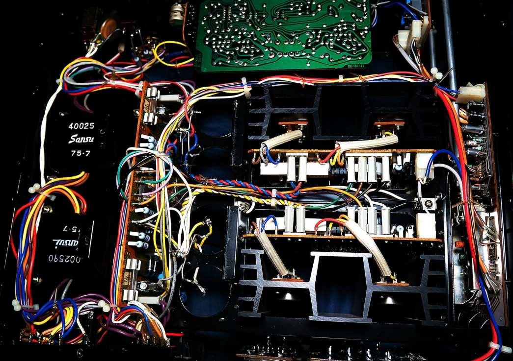 Bottom Wiring of AU-517