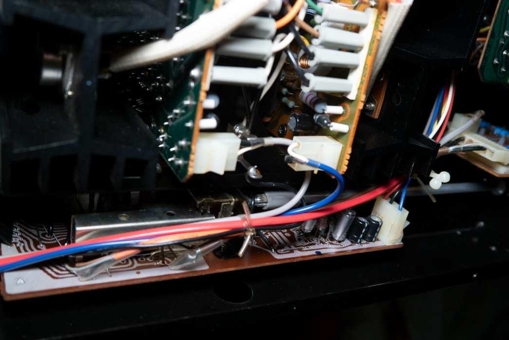 Wiring driver boards AU-517
